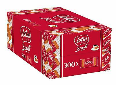 Lotus Biscoff Caramelised Single Biscuits Pack Of 300 Catering Size Biscuit