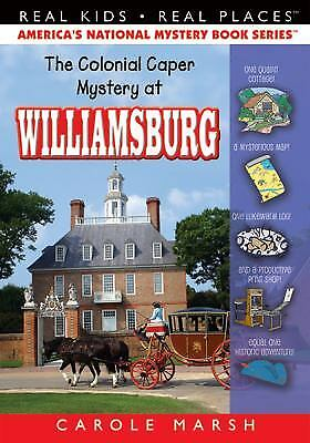The Colonial Caper Mystery at Williamsburg  (ExLib) by Carole Marsh