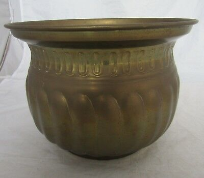Large Brass Planter Urn Garden Conservatory Flowers Display