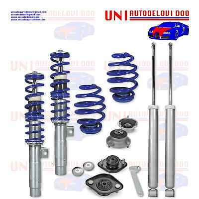 1x KIT Assetto a Ghiera Regolabile BMW SERIE 3 E46 4 / 6 Cilindri / Touring Mode