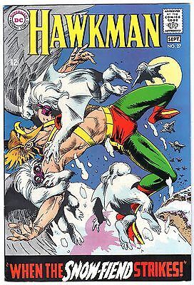 Hawkman #27, Very Fine - Near Mint Condition