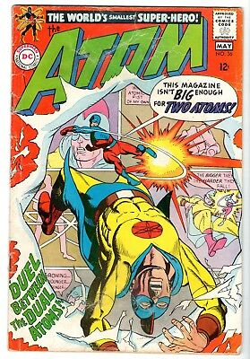 Atom #36 Featuring a Golden Age Atom Cross Over, Very Good Condition'