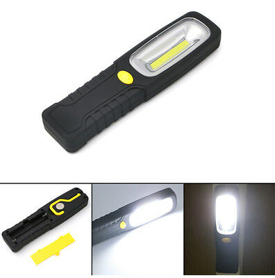 led cob flashlight inspection lamp flexible usb rechargeable hand