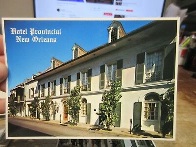 Vintage Old Postcard LOUISIANA New Orleans Hotel Provincial French Quarter 1993