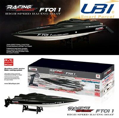 FT011/FT009 2.4G RC Racing Boat Brushless Built-In Water Cooling System RC Ship
