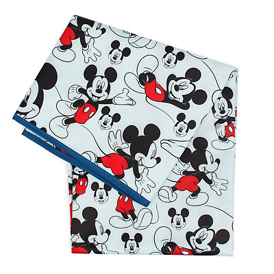 Bumkins Disney Mickey Mouse Splat Mat, Waterproof, Washable for Floor or Table,