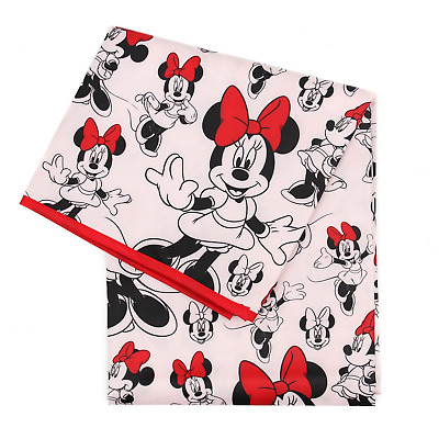 Bumkins Disney Minnie Mouse Splat Mat, Waterproof, Washable for Floor or Table,