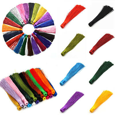 10 PC 12CM Colorful Tassels for DIY Jewelry Making Pendant Findings Materials