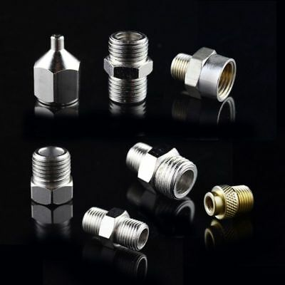7PCS AC027-33 Useful Airbrush Disconnect Coupler Adapter Hose Connector for Tool