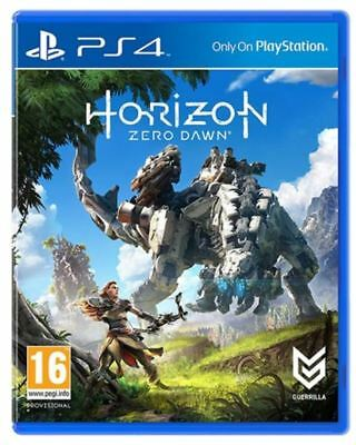 PS4 Horizon Zero Dawn NEW SEALED UK PAL Sony Playstation 4 - Original Release