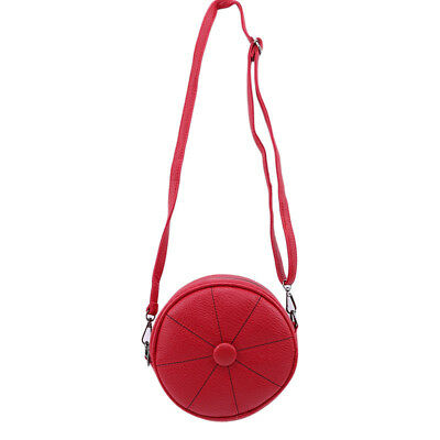Lady Bag Tassel Decorated Multi-Color Round Shape PU Leather Shoulder Bags TL