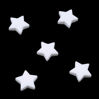 Star Silicone Teether Beads Baby DIY Pacifier Chain Baby Teeth Food Grade Gum TL