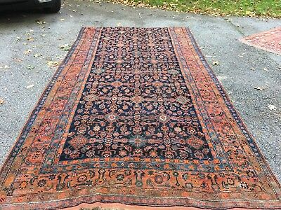 ANTIQUE 1900s Tribal Caucasian Rug Kazak Very Rare 6.5x12 Shirvan Dazzler Heriz