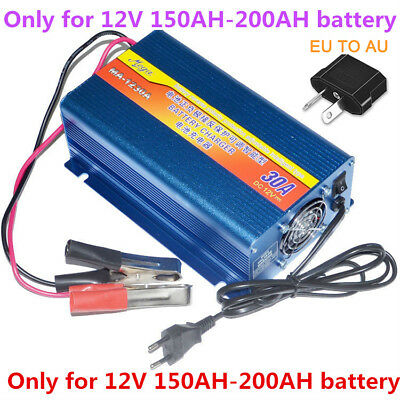 12V 30A Motorcycle Car Battery Charger Lead Acid Storage Charger Moto MG