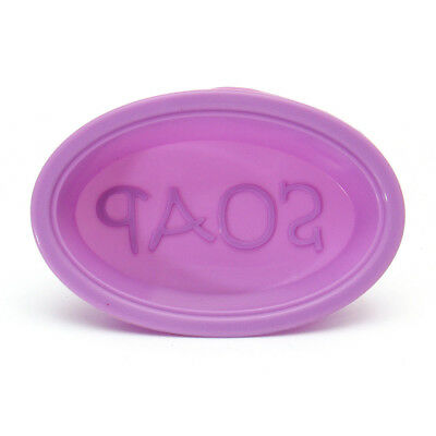25Pcs Silicone Oval Soap Molds Baking Mold Cupcake Liners Handmade Mould AU
