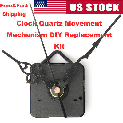 US Clock Quartz Movement Mechanism Replacement Part DIY Watches Replacement Tool