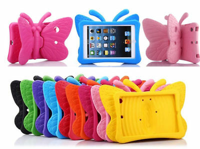 Butterfly Shockproof Kids Childrens Case Cover For iPad 2 3 4 9.7 Mini 1234 Air2