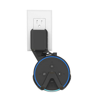 Wall Mount Hanger Holder for Amazon Echo Dot 3rd Space-Saving Compact Bracket