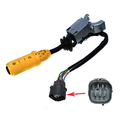 Right Hand Wiper Lights Lamps Column Switch For JCB 3CX, 4CX 701/70001 New