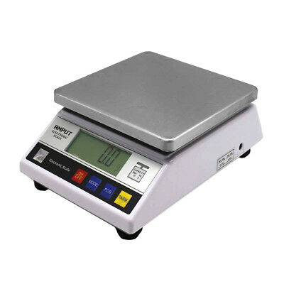10kg x 0.1g Digital Accurate Balance w Counting Table Top Scale Industrial Scal