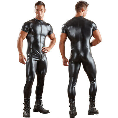 Men Latex Rubber Zentai Catsuit Full Body Suit Underwear Gym Party Fancy  Costume ceef99bd7