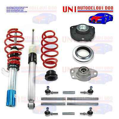 1x KIT Assetto a Ghiera Regolabile VW Golf V da 2003 a 2008