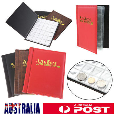 1 X OZ Holder 250 Coins Collection Album Storage Money Penny Book Collecting AU