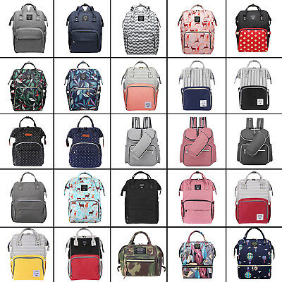 LEQUEEN Mummy Maternity Nappy Diaper Bags Large Capacity Travel Backpack Handbag