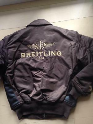 869d0a3e3 BREITLING X ALPHA INDUSTRIES Bomber Jacket Size M NEW Novelty Rare From  JAPAN