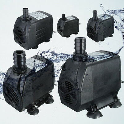 2500L/H/3000L/H Submersible Aquarium Tank Fountain Pond Water Pump 65W 220-240V