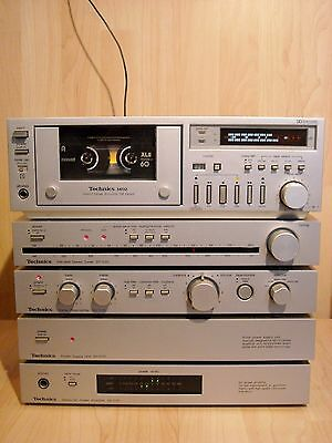 Technics C01 CONCISE High End Audio Set * SU-C01 SE-C01 SH-C01 ST-C01 RS-M02