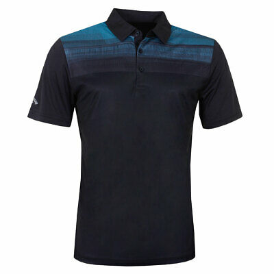 Callaway Golf Mens Textured Modern Embroidered Polo Shirt 40% OFF RRP