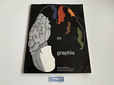 Magazine - Graphis 65 - Graphic And Applied Art - EN/FR/GER
