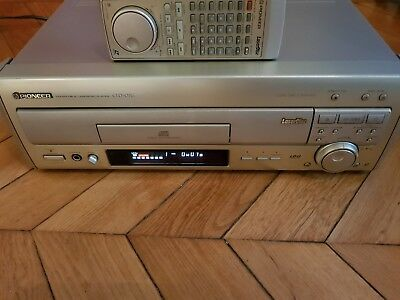 Pioneer CLD 07G LASERDISC PLAYER LD NTSC Both Sides LD-G Graphics Japan 100V
