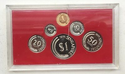 Singapore Proof Coin Set 1975