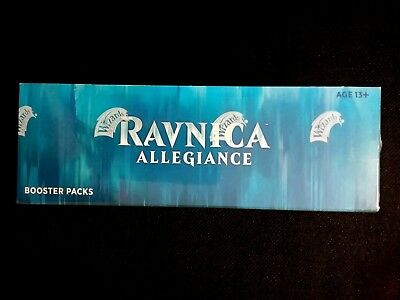 Magic RAVNICA ALLEGIANCE Booster Box Factory Sealed IN STOCK  FREE PRIORITY SHIP