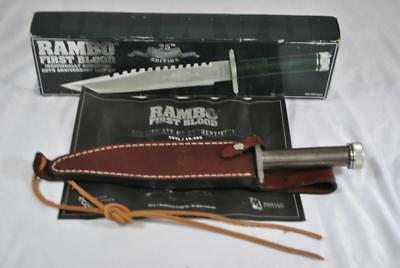 RAMBO FIRST BLOOD 25TH Anniversary Edition Combat Survival Knife - MC-RB1A25