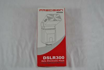 Precision Design Dslr300 Universal High Power Auto Flash Accessory