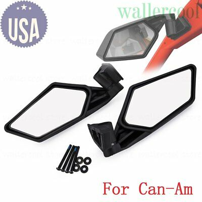 FOR 2017-2018 Can Am Maverick X3 MAX Racing Side Mirrors Left & Right 715002898