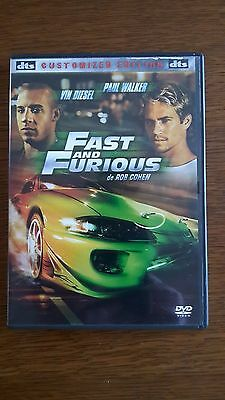 DVD Fast and Furious de Rob Cohen avec Vin Diesel et Paul Walker