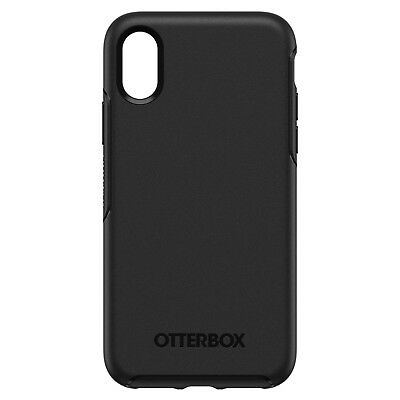 Otterbox Symmetry Series Hard Case For Apple iPhone XS & iPhone X - Black