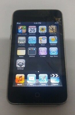 Apple iPod Touch 2nd Gen A1288 8GB Black - FULLY FUNCTIONAL - READ BELOW