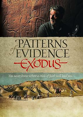 Patterns of Evidence: Exodus DVD Religious Christian Movie NEW Free Shipping