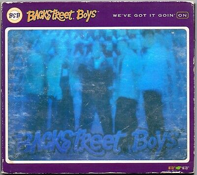 BACKSTREET BOYS ~ We've Got It Goin' On (Hologram DIGIPAK℗, cd single, 1996)