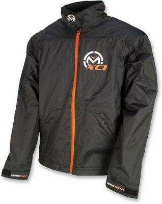 Moose Racing XC1 Mens Rain Jacket Black