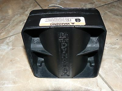 Police Siren Speaker Ambulance Fire Emergency Vehicles 100 Watt Dynamax MS100 !