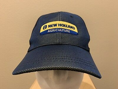 New Holland Agriculture Navy Blue Adustable Hat Baseball Cap K Products c7e380045d84