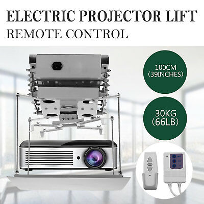 Projector Bracket Motorized Electric Lift Beamer Lift 220V W/ Remote Control