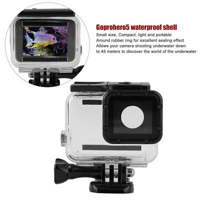 For GoPro Hero5 45M Waterproof Case Underwater Protective Shell Housing Box YF