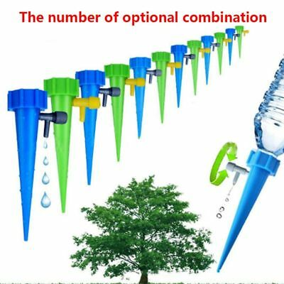 Automatic Garden Cone Bottle Irrigation Watering Spike Plant Flower Waterers